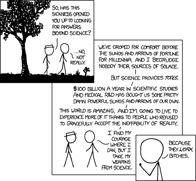 xkcd - Sickness