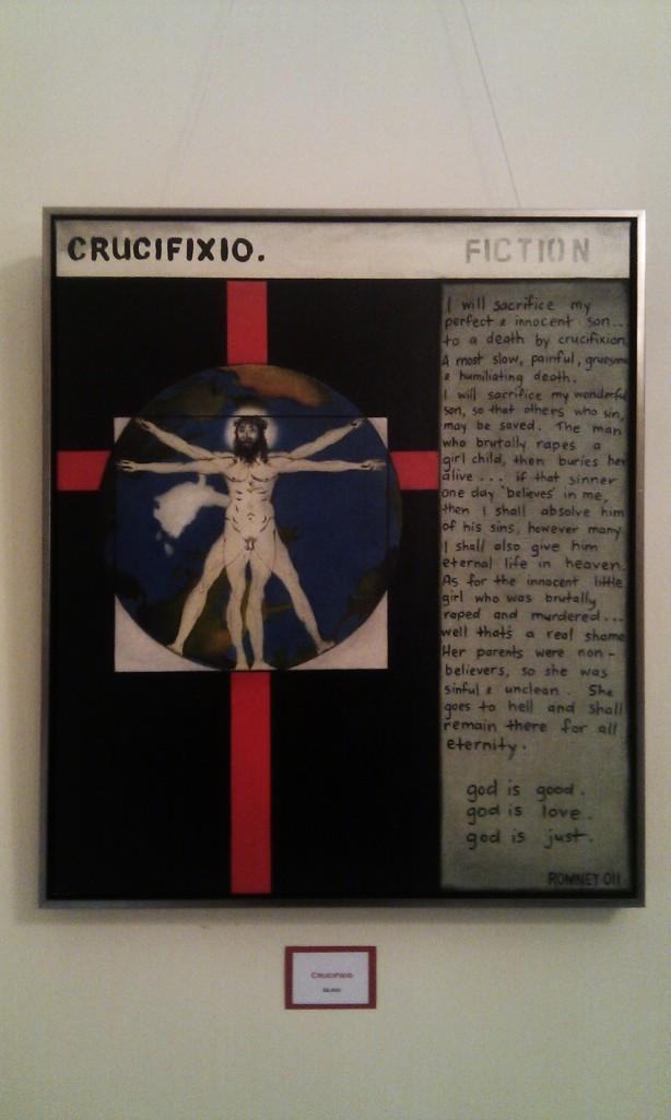 Crucifixio by Nichola Romney