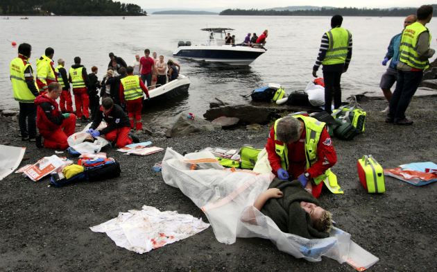 Norwegian shooting victim