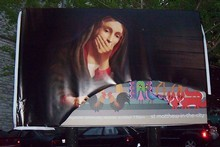 "The ""blasphemous"" billboard - After"