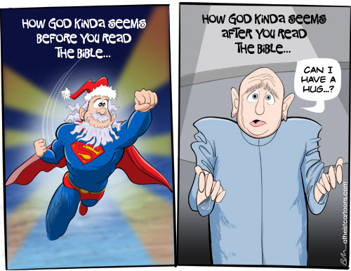 God: before and after...