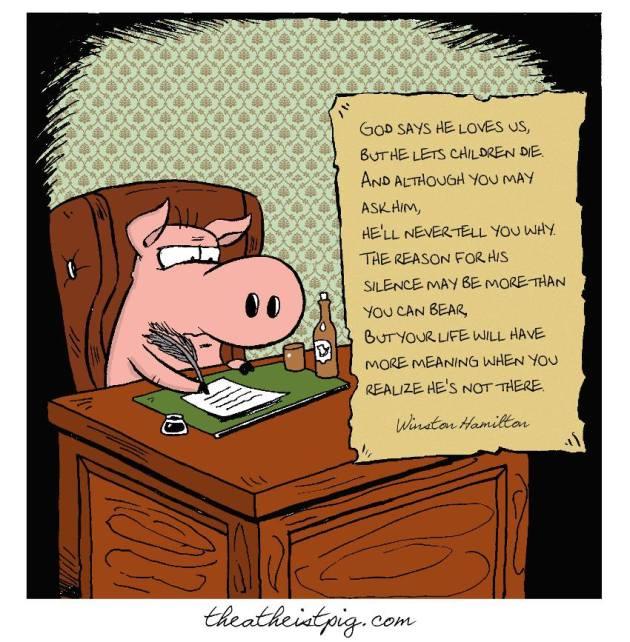 Atheist Pig Writes...