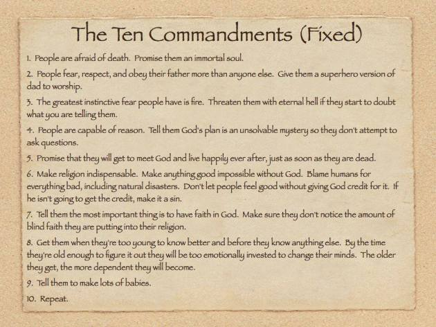 The Ten Commandments (Fixed)