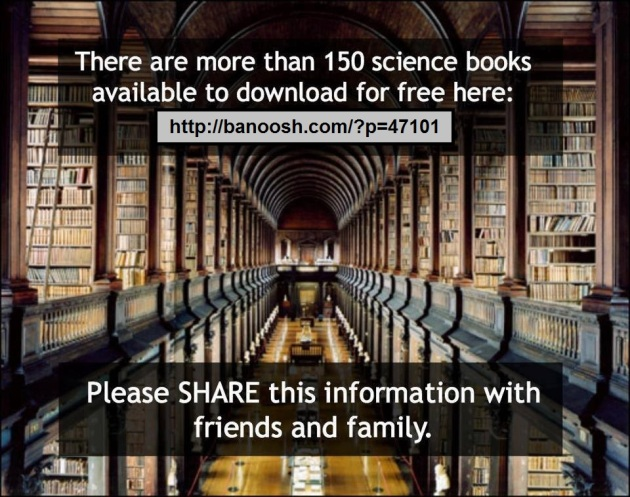 A list of free science books